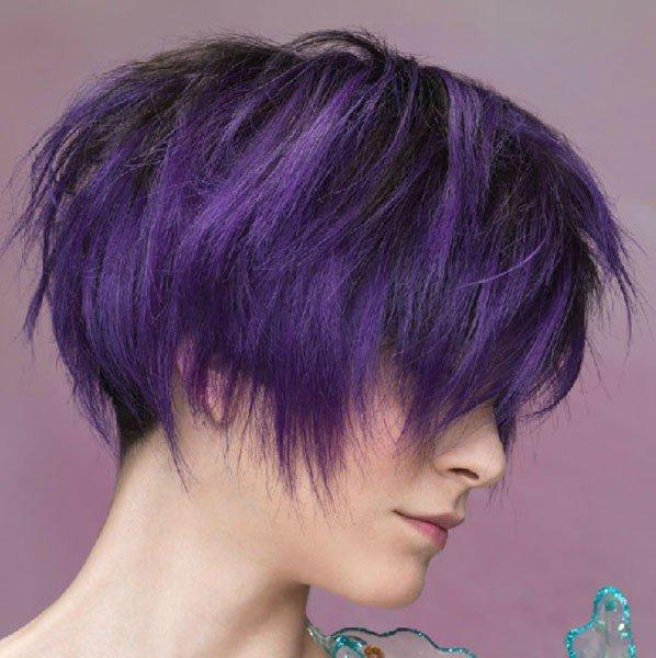 tendenze-capelli-autunno-inverno-2013-2014 - Sì a colori insoliti come il viola