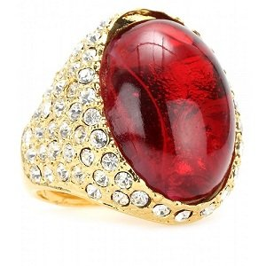 3 sfumature di rosso - Rosso d'Ordinanza - anello