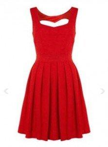 3 sfumature di rosso - Woman in Red - abitino smanicato