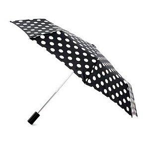 3 sfumature di nero - ombrello Polka dots