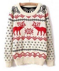 3 sfumature di rosso - Rosso Natale - maglione