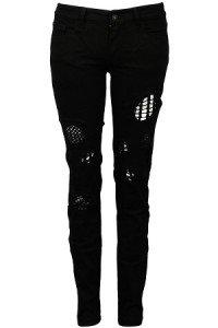 3 sfumature di nero - pantaloni a tutto rock