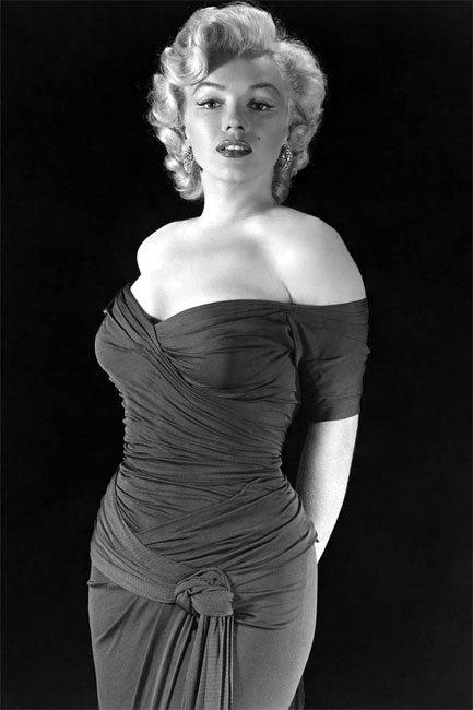 Marilyn: l'icona clessidra per eccellenza!