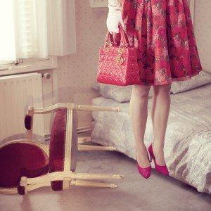 La magia di una Lady Dior (immagine di Kourtney Roy)