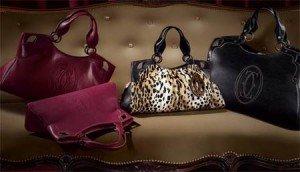 L'inconfondibile stile della borsa Marcello di Cartier.