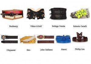Tutti gli stilisti amano le cinture!