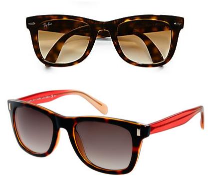 Gli occhiali da sole per la forma del tuo viso vintage