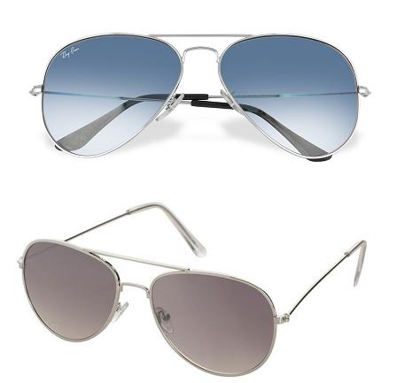 Gli occhiali da sole perfetti per la forma del tuo viso Ecco quali sono aviator