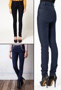 Il jeans per la donna a clessidra? Un jeans a vita alta!