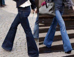 La zampa d'elefante è la migliore alleata delle donne a pera nella scelta dei jeans.