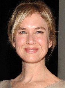 Il viso di Renée Zellweger è un tipico esempio di viso triangolare.