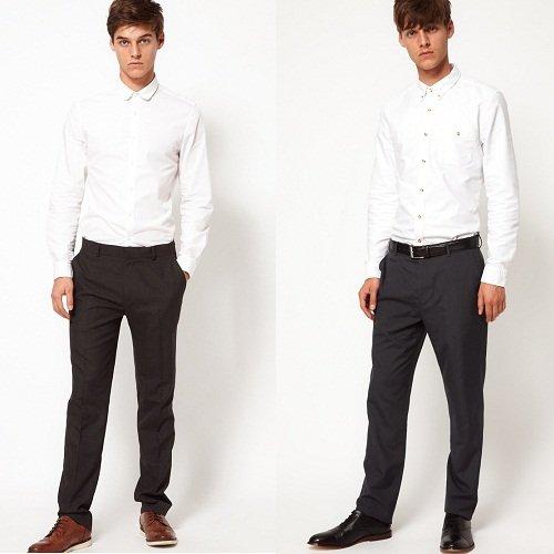 Come vestirsi a un funerale, per lui asos pantaloni