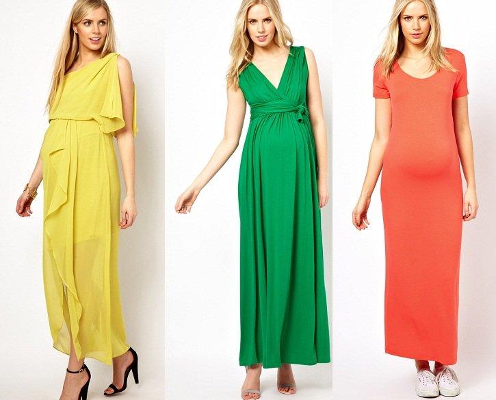 Moda premaman primavera estate 2013: tutte le tendenze maxi dress