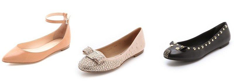 Abecedario della moda: tutti i tipi di scarpe dalla A alla Z ballerine flat