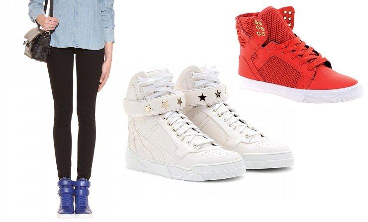 Abecedario della moda: tutti i tipi di scarpe dalla A alla Z scarpe sneakers alte e basse