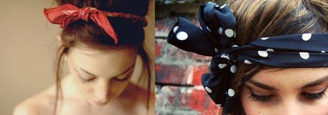 Bandana stile romantico: per quando ti senti un pò Minnie.