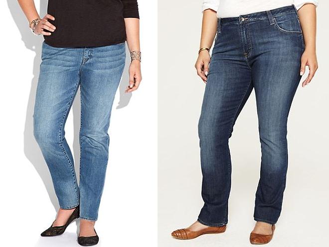 I jeans perfetti per le donne curvy jeans a sigaretta