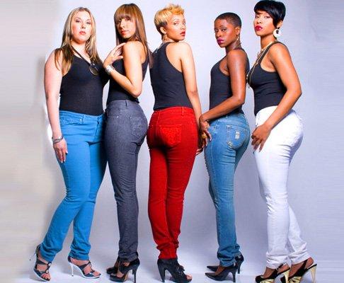 I jeans perfetti per le donne curvy skinny jeans colorati