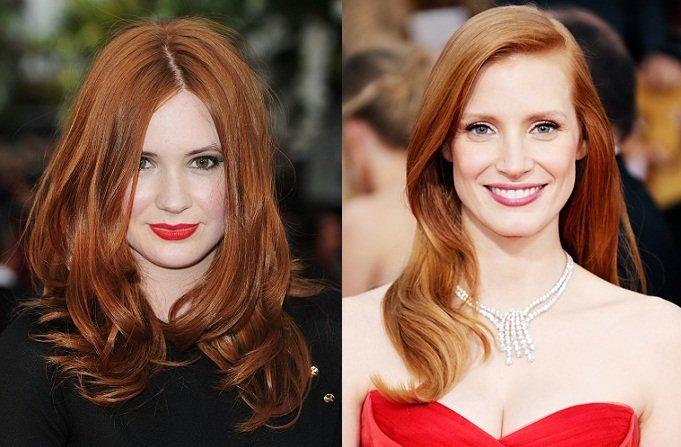 Quale colore scegliere per i tuoi capelli carnagione rosata capelli rossi