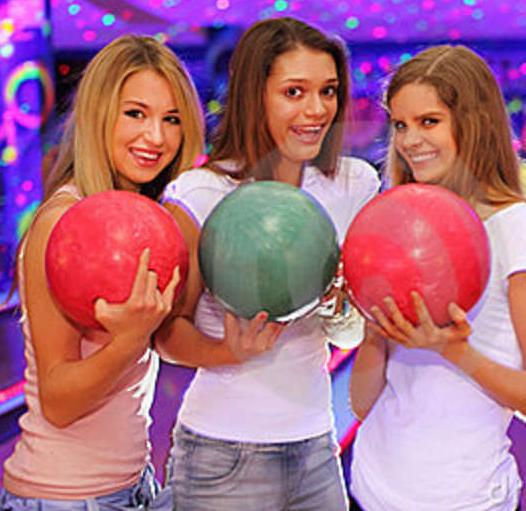 ragazze bowling