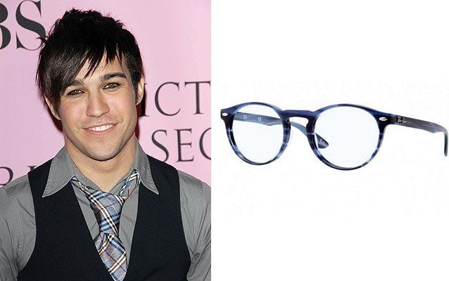 Tutti gli occhiali da vista per lui secondo la forma del viso pete wentz viso a diamante