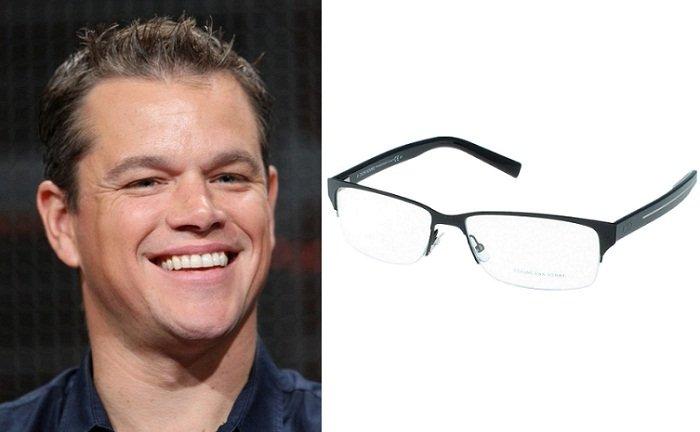 Tutti gli occhiali da vista per lui secondo la forma del visomatt demon viso quadrato