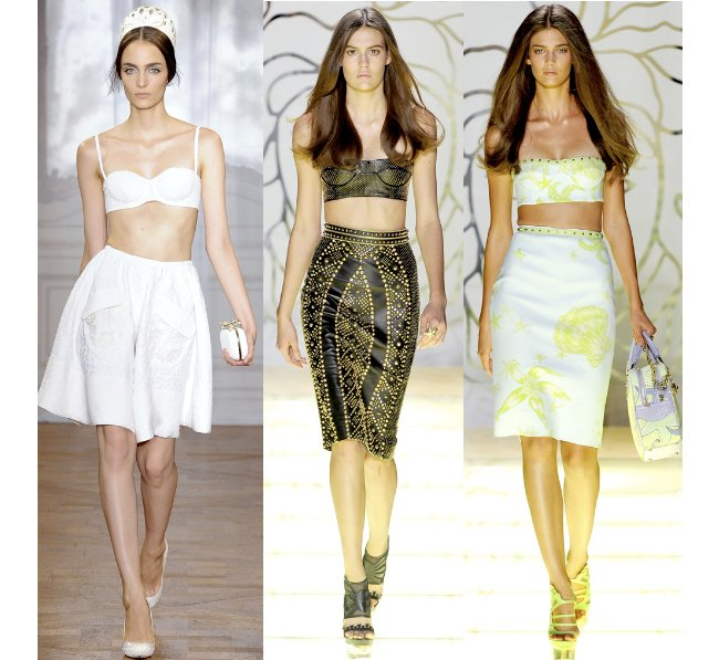 crop top runway