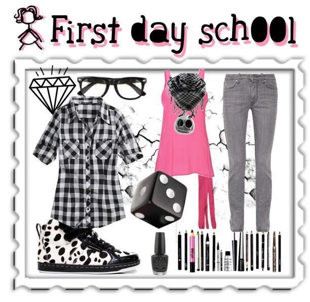 Che Mi Metto Per Il Primo Giorno Di Scuola Outfit Rock Liceo