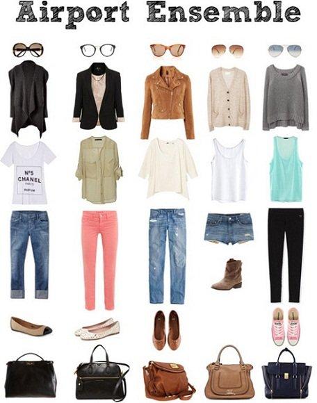 SOS outfit: come mi vesto per un viaggio in aereo outfit airport style