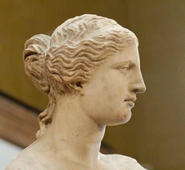 Trucco naso greco - Anche la Venere di Milo presente il tipico naso greco
