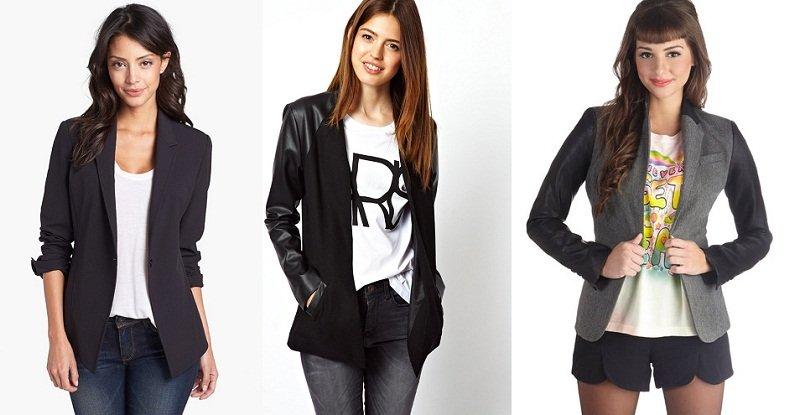 3 capi primavera estate 2013 che puoi riutilizzare in autunno t shirt e blazer
