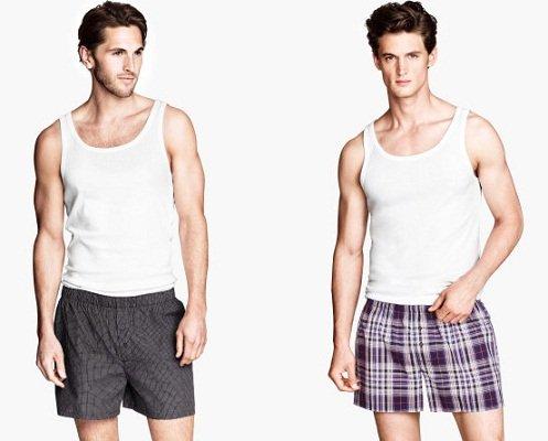 Moda uomo da casa: valorizza il tuo fisico anche in pigiama uomo forma corpo a cetriolo
