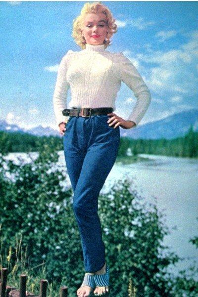Festa anni '80 - I jeans avevano linee dritte e molto maschili ed erano rigorosamente a vita alta