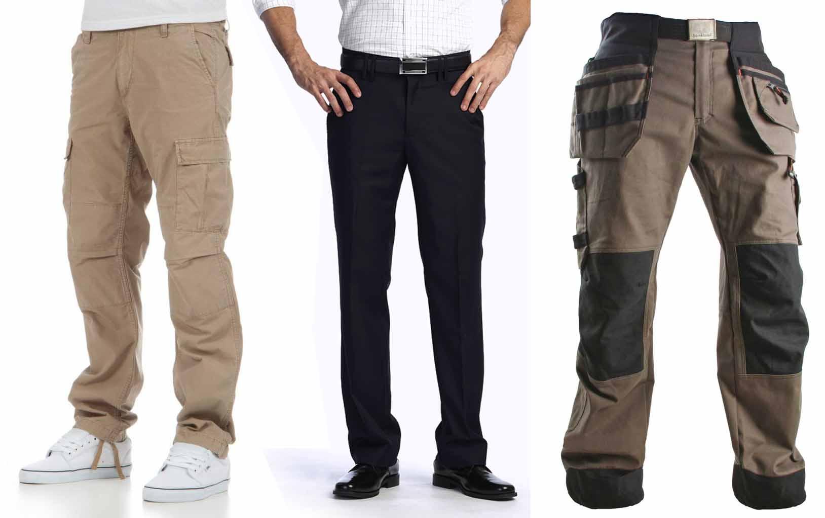 Per un uomo con qualche kg di troppo i pantaloni non devono essere né troppo aderenti né troppo voluminosi