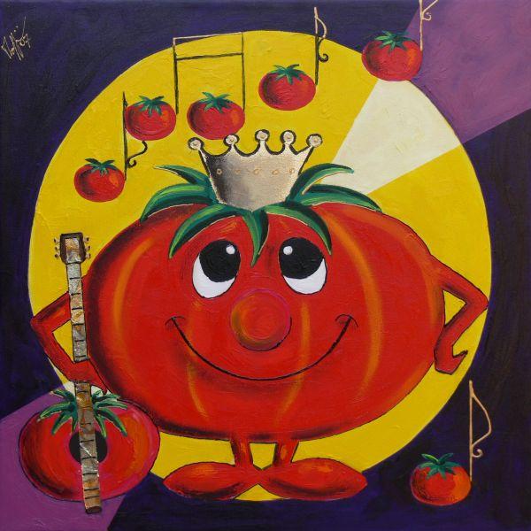 """Un uomo a pomodoro è un uomo paffuto, """"rotondo"""" in tutti i punti"""