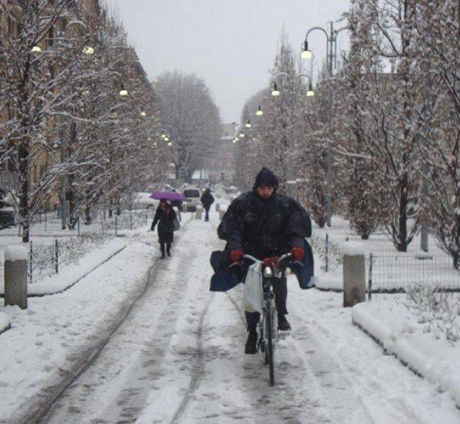 Perché smettere di andare in bici durante l'inverno?