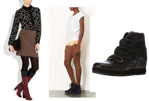 Come mi vesto con la pioggia? I look fashion e anti pioggia per lei stivali alti sneakers