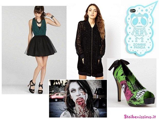 Come mi vesto per #Halloween? 3 outfit stregati per lei look da zombie
