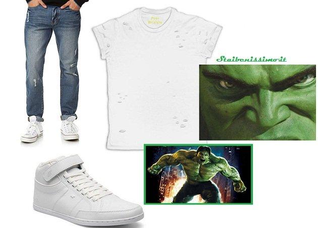 Moda uomo e party: come mi vesto per #Halloween? Consigli mostruosi outfit hulk