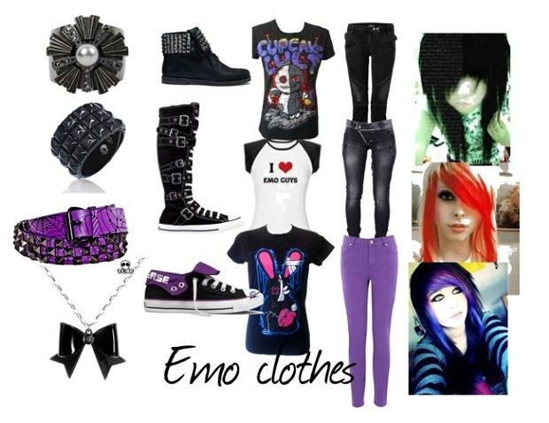 Trova il tuo stile: lo stile emo outfit emo
