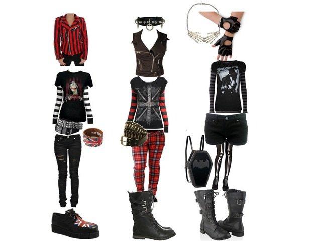 Trova il tuo stile: lo stile punk outfit ispirazione