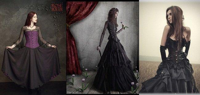 Trova il tuo stile: lo stile gotico abbigliamento romantic goth