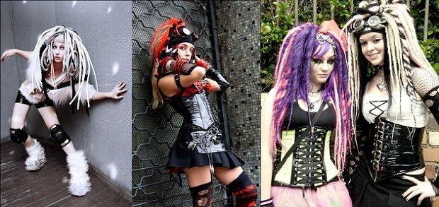 Trova il tuo stile: lo stile gotico come vestire cybergoth