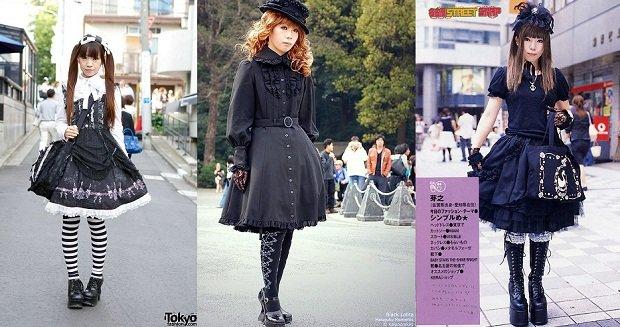 Trova il tuo stile: lo stile gotico gothic lolita outfit