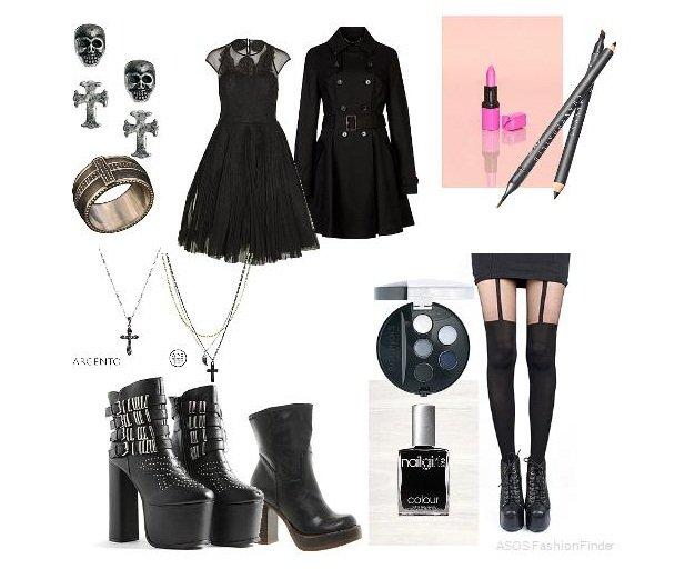 Trova il tuo stile: lo stile gotico outfit goth