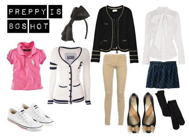 trova il tuo stile: lo stile preppy outfit
