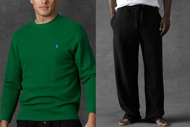 Valorizza il tuo fisico in pigiama: consigli per lui d'autunno inverno pigiama per uomo a pomodoro