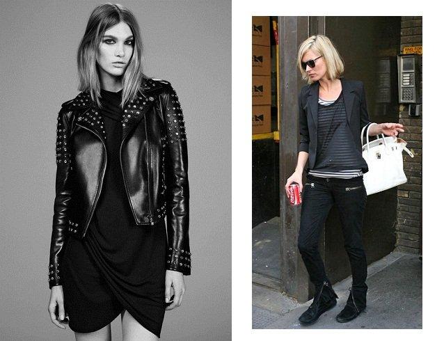 Trova il tuo stile lo stile rock abbigliamento total black