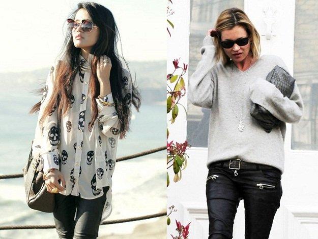 Trova il tuo stile lo stile rock felpa camicia con teschi