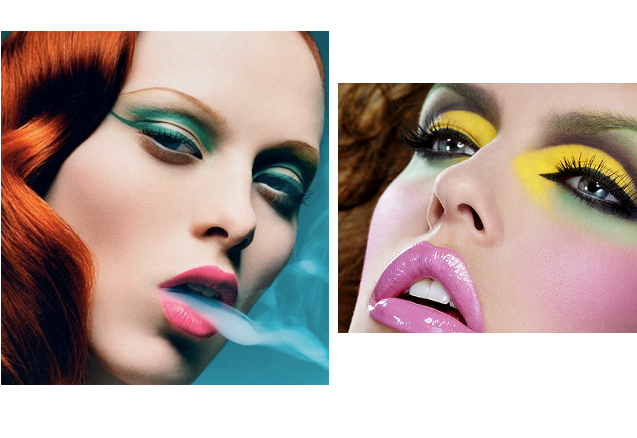 Time to make up: tutte le tendenze primavera estate 2014 trucco colorato